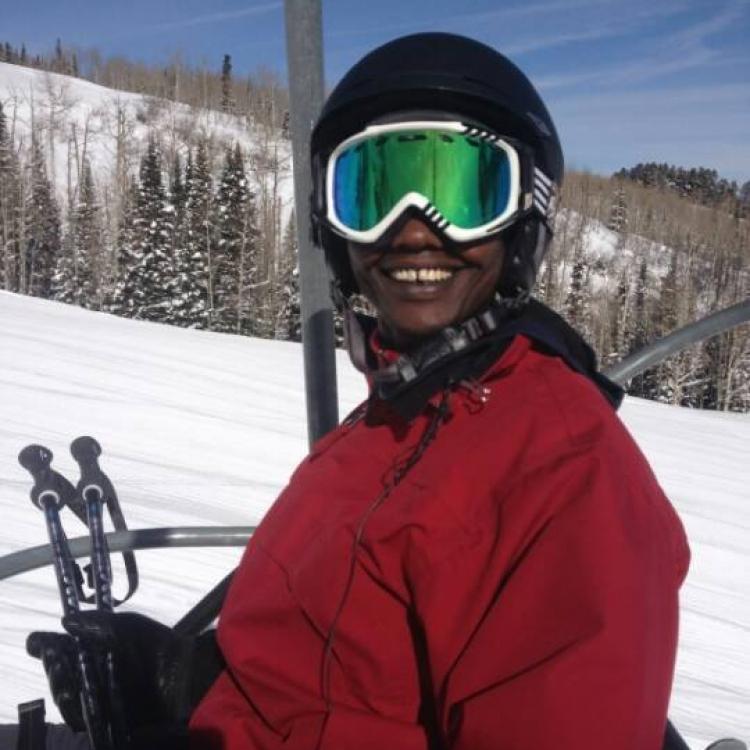 Joshua Kirrinkol on the Aspen slopes