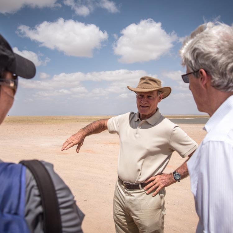 Dr. David Western (Amboseli Conservation Program)